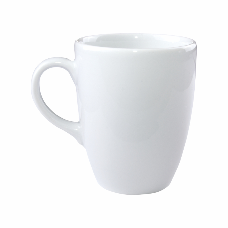 153 PARIS CERAMIC WHITE MUG