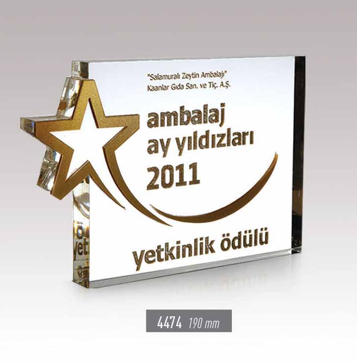 4474  - Acrylic Award