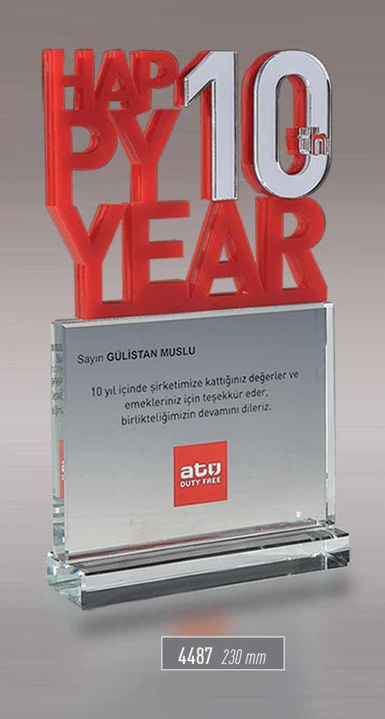 4487  - Acrylic Award