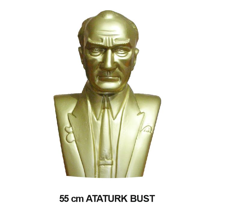 ALUMINIUM ATATUR BUST