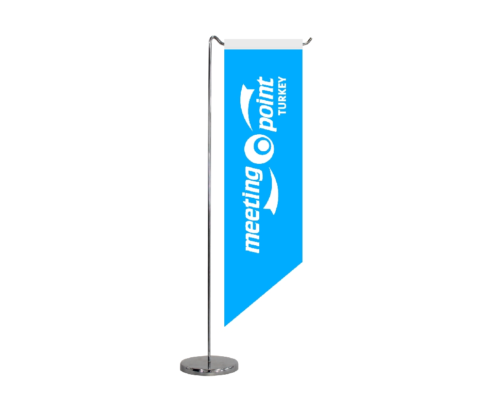 B305 TABLE FLAG HORIZONTAL SHAPE