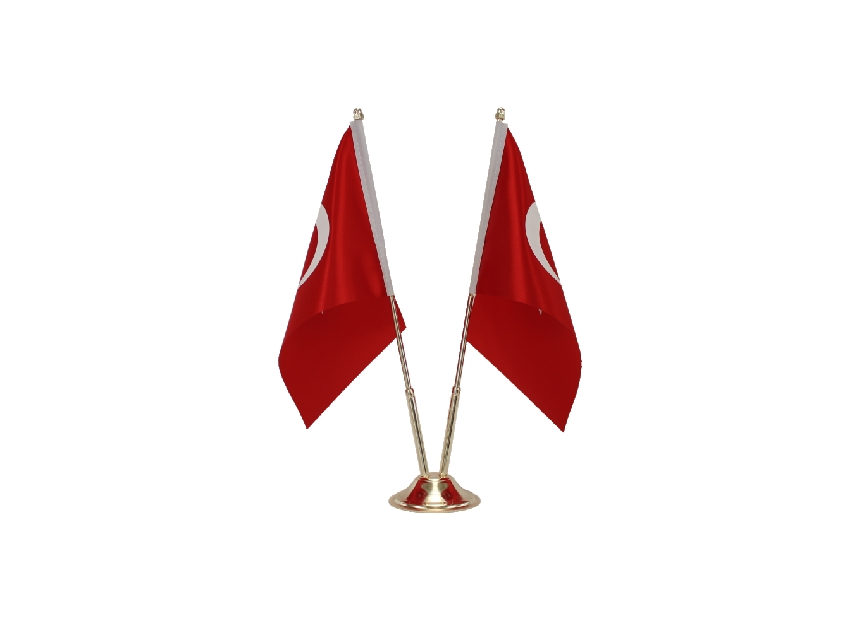 B311 TURKISH TABLE FLAG CLASSICAL MODEL