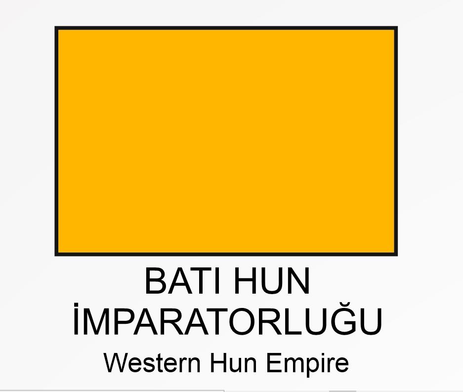WESTERN HUN EMPIRE