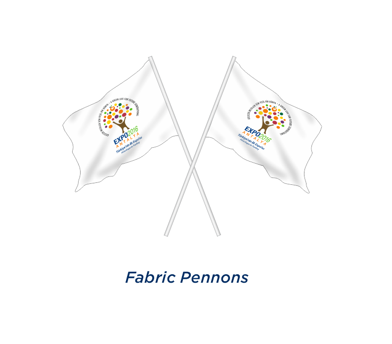 FABRIC PENNON