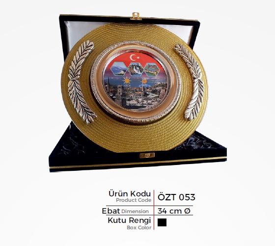 ÖZT 053 Glass Plate Plaquettes