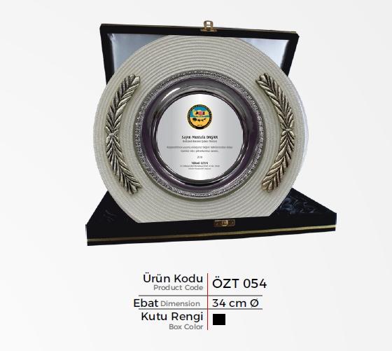 ÖZT 054 Glass Plate Plaquettes