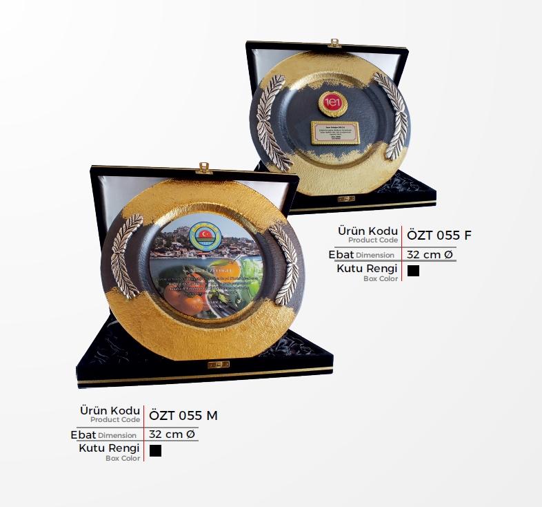 ÖZT 055 Glass Plate Plaquettes