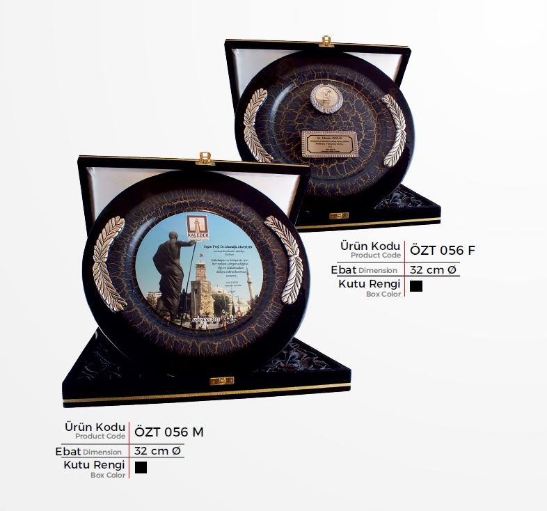 ÖZT 056 Glass Plate Plaquettes
