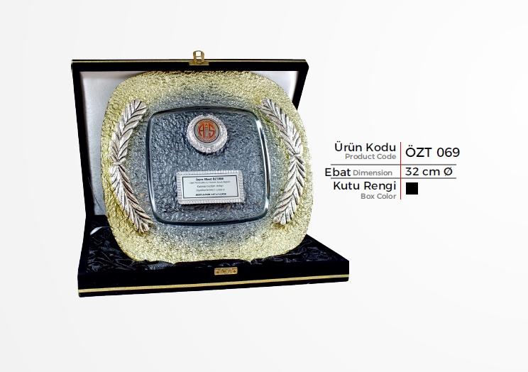 ÖZT 069 Glass Plate Plaquettes