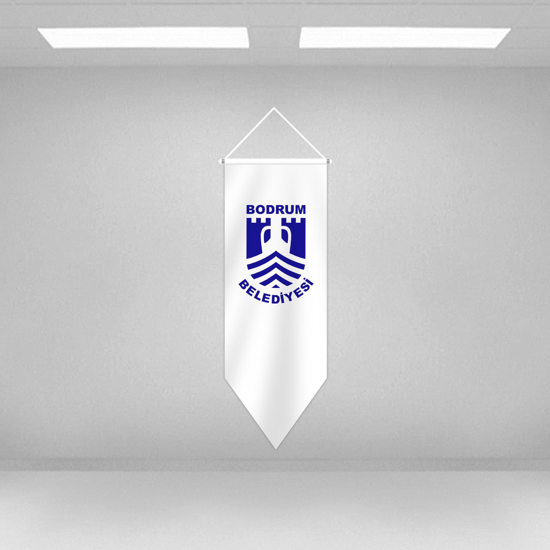 PENTAGON SHAPE DECORATIVE FLAG