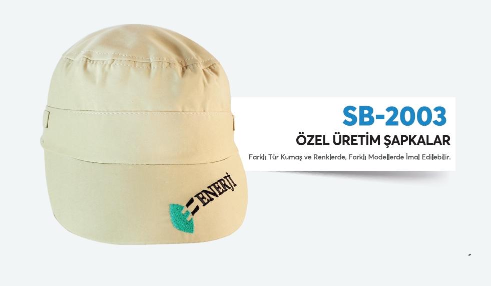 SB-2003 ÖZEL ÜRETİM ŞAPKA