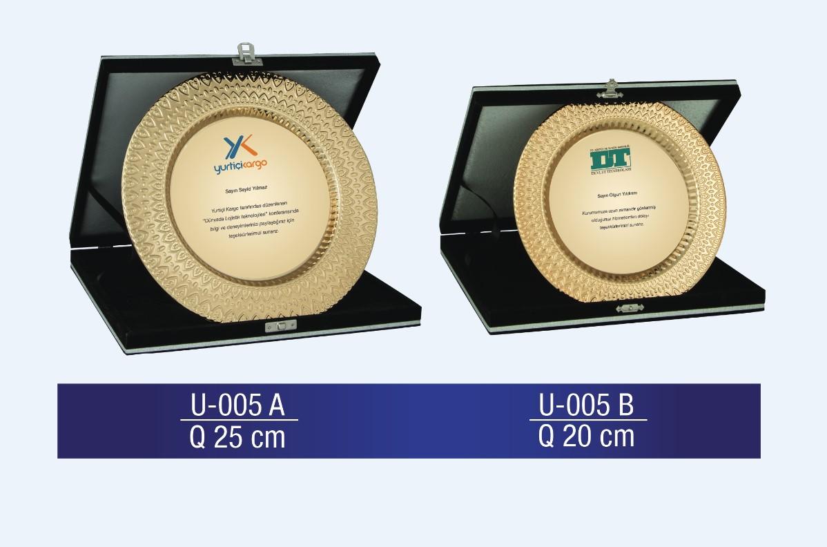 U-005 Circle Plaque