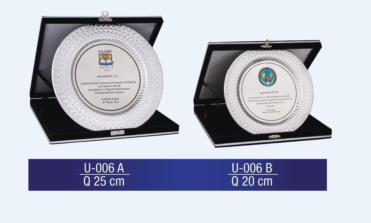 U-006 Circle Plaque
