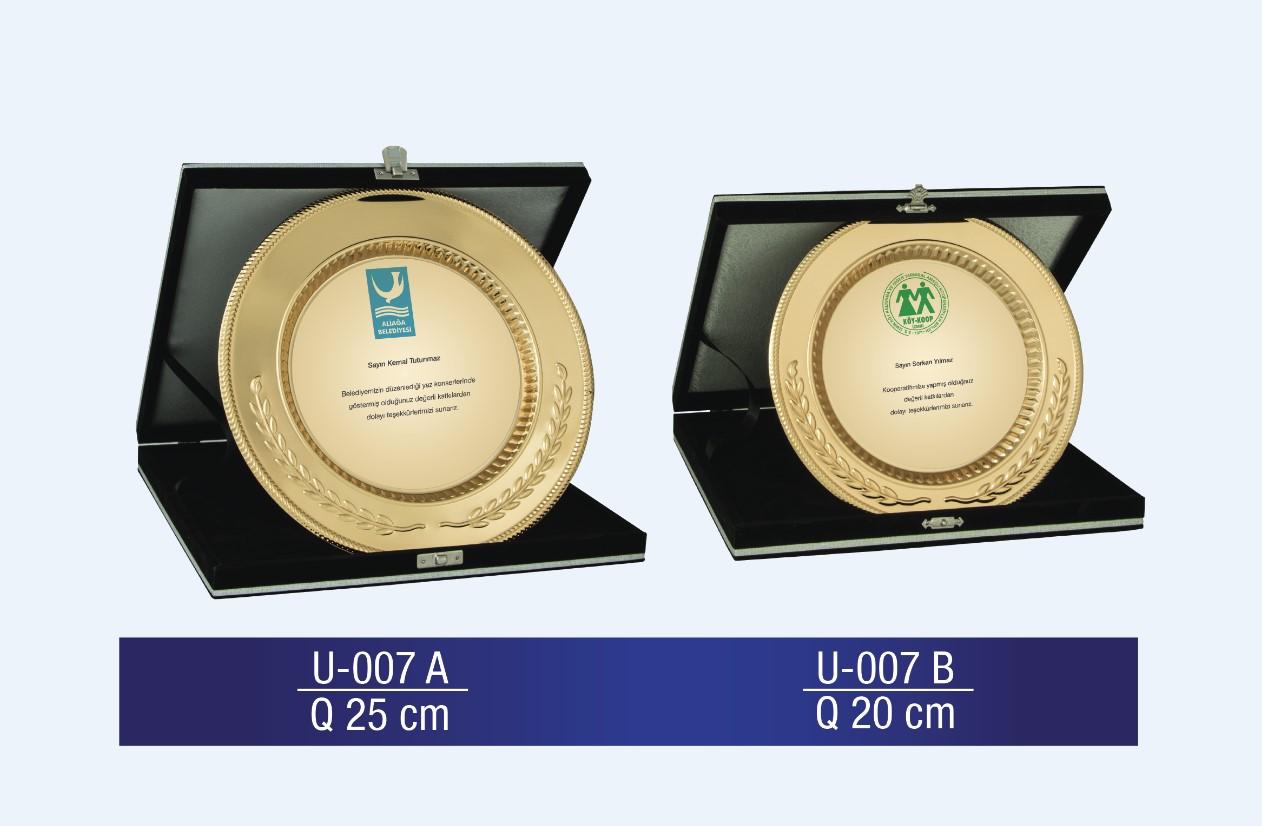 U-007 Circle Plaque