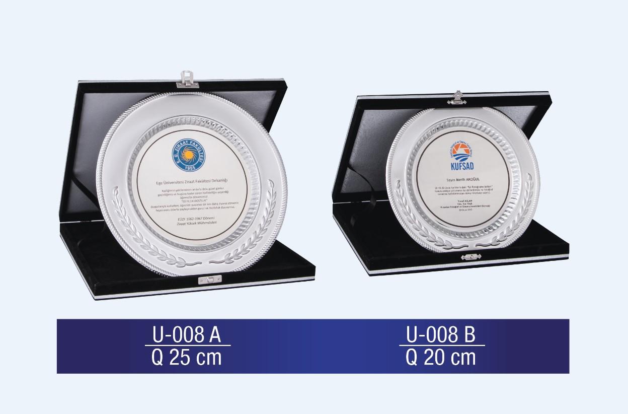 U-008 Circle Plaque