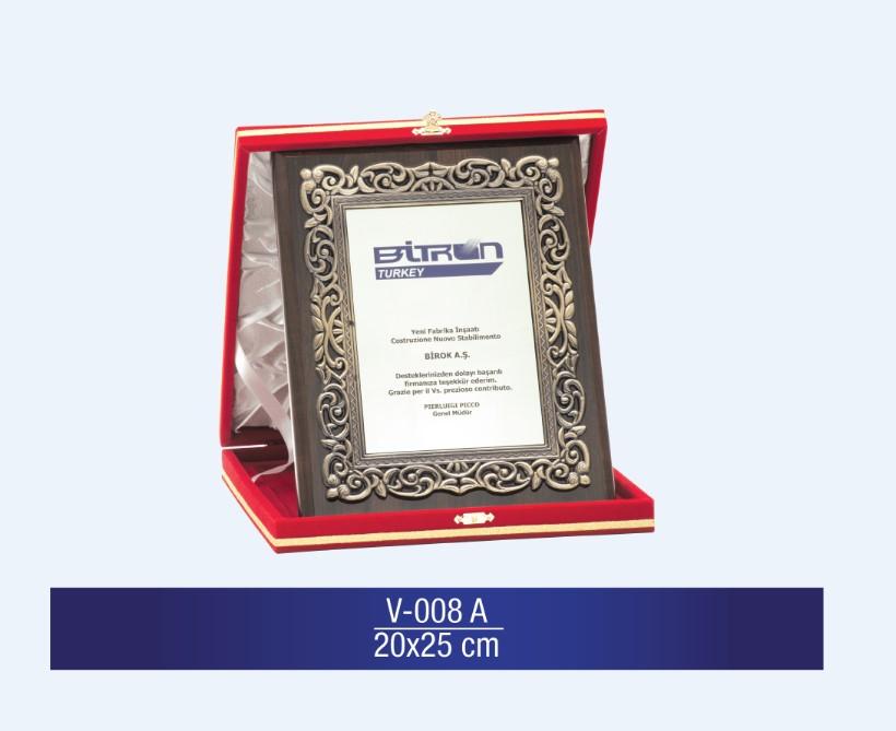 V-008 Special Plaquette