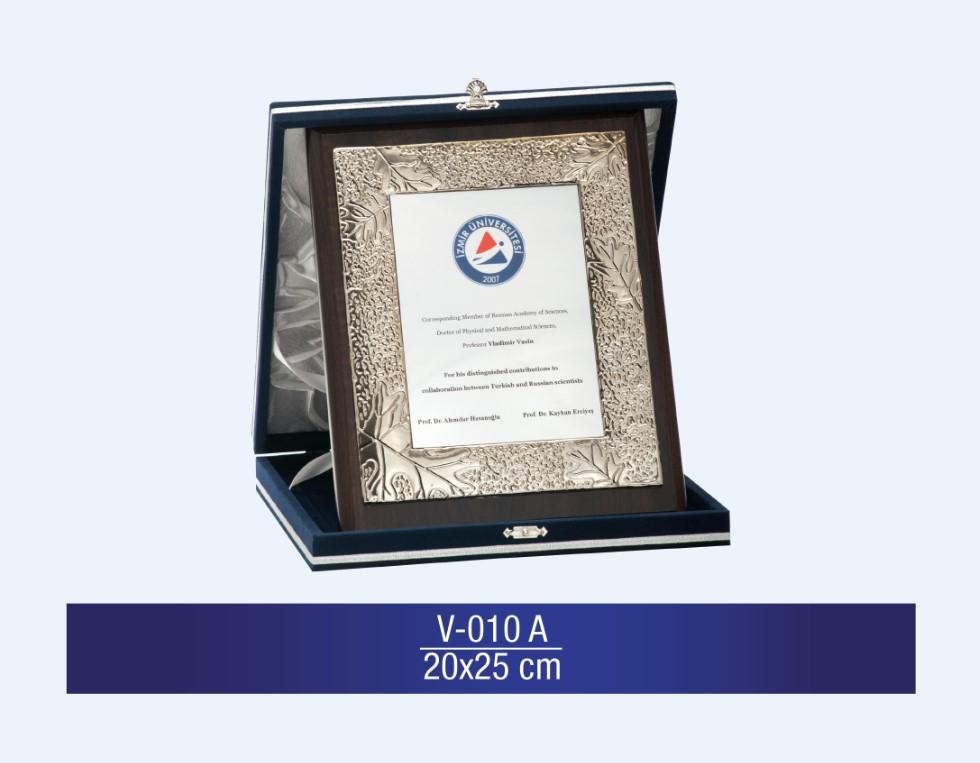 V-010 Special Plaquette