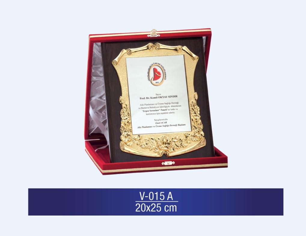 V-015 Special Plaquette