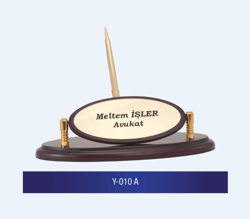 Y-010 Wooden Desk Name Plates