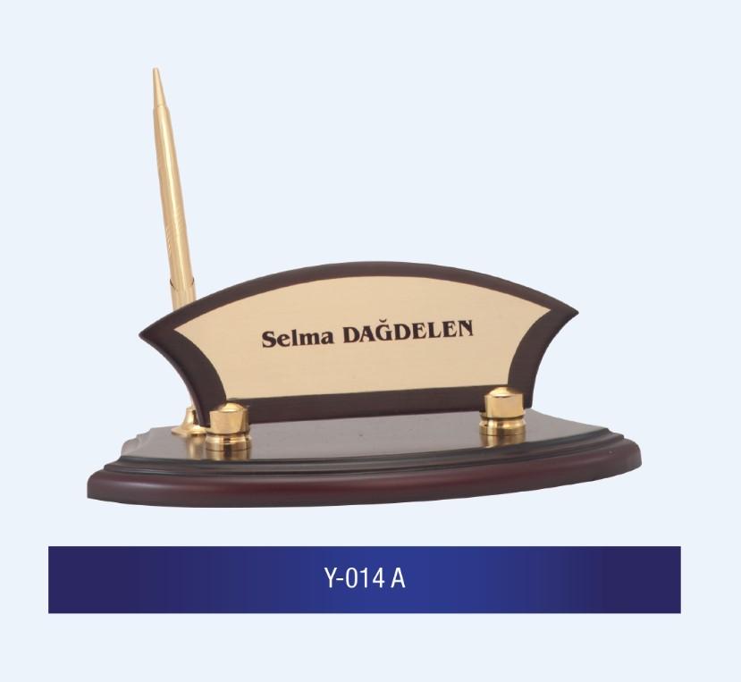 Y-014 Wooden Desk Name Plates