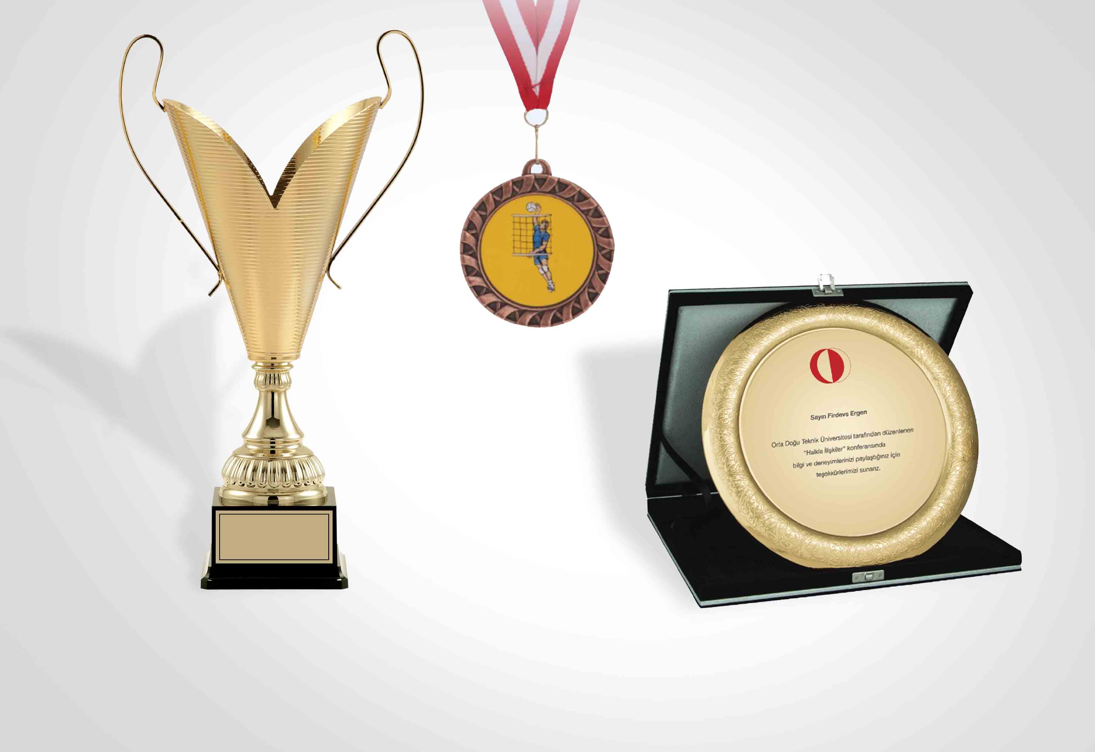 Cups - Plaques - Medals
